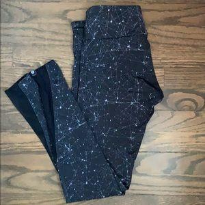 Onzie Constellation Leggings w Mesh Details